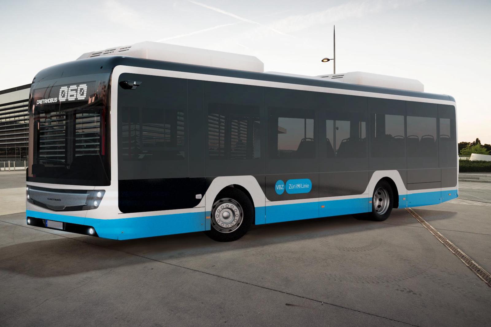 So werden die neuen VBZ-Quartierbusse aussehen, die rein elektrisch und ohne Oberleitung durch Zürich fahren. (VBZ)